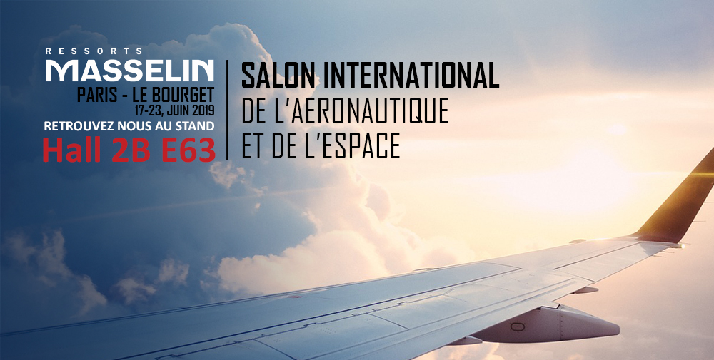Ressorts Masselin au Salon du Bourget 2019